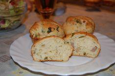 krumplis sonkás kelt muffin