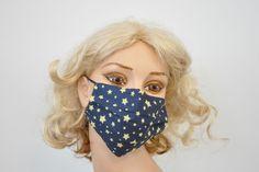 Yellow Stars Blue Mask