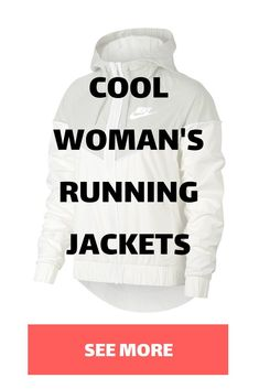 Stay dry and warm on your rainy runs. Check out these cool Woman's running jackets! Running In The Rain, Winter Running, Running Watch, Running Socks, Running Jacket, Running Gear, Running Shirts, Running Workouts, Running Women