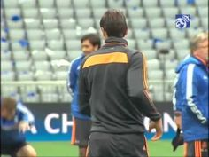 Sergio Ramos The Whites prepare the game in Allianz Arena