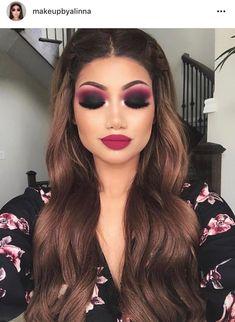 Smoky eyes make-up – ideas for day and night look – deco … – About Face Makeup Gorgeous Makeup, Love Makeup, Makeup Inspo, Makeup Inspiration, Makeup Ideas, Amazing Makeup, Makeup Style, Dark Makeup Looks, Makeup Designs