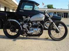 '67 Triumph #bobber by HotShoe Customs ... | Bobber Inspiration - Bobbers and Custom Motorcycles | wherethelightisnt July 2014