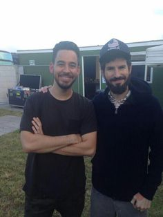 Mike shinoda and brad delson / linkin park