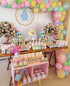 [O tema que eu quero] linda inspiração via @umdiadefesta com tema Galinha Pintadinha Candy Colors #MamaesFesteirasRS . . . . . . . #festas #inspiracoes #festaspersonalizadas #babyshower #chadebebe #festainfantil #birthdayparty #instaparty #kidsparty #ideiasforparty #partyideas #partydecor #partyfavors #lembrancinhas #birthdaypartyideas #maedemenino #maedemenina #festacriativa #festasinfantis #festacaseira #mimospersonalizados #babyboy #babygirl #party #children #maternidade #dicasmae… Little Girl Birthday, Diy Birthday, 2nd Birthday Parties, Colorful Candy, Candy Colors, Kids Party Themes, Ideas Party, Art Party, Birthday Decorations