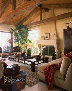 Tuscan Italian Living Room - mediterranean - living room - santa barbara - Maraya Interior Design