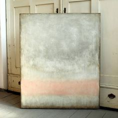 "Christian Hetzel; Painting, ""pink in grey"" #art"