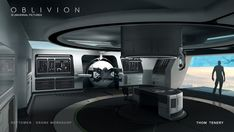 Concept Art World » Oblivion Concept Art by Thom Tenery