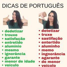 Portuguese Grammar, Portuguese Words, Learn Brazilian Portuguese, Portuguese Language, Study Organization, Lettering Tutorial, Study Hard, Insta Posts, Study Tips