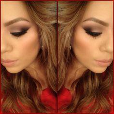 Smokey eye - #eyemakeup #eyeshadow #smokeyeye #eyes - bellashoot.com / bellashoot iPhone app