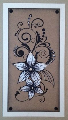 Honey Doo Crafts Acrylic Stamps - Sample Gallery Card Crafts, Crafts To Do, Paper Crafts, Honey Doo Crafts, Pinterest Cards, Die Cut Cards, Altenew, Stamping Up, Flower Cards