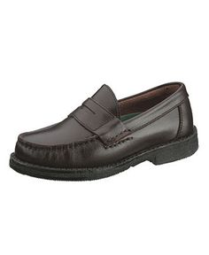 """Hush Puppies Kids Shoes, Little Boy or Boys """"Lincoln"""" Leather Classic Penny Loafer - Kids Boys 8-20 - Macy's"""