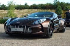 Awesome Aston Martin One-77