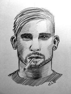 Bleistift Zeichnung, Pencil Drawing (www.michael-franz-art.de)