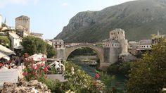 Mostar - Bosnia and Herzegovina. Mostar city - Bosnia and Herzegovina , Beautiful Places To Visit, Places To See, Siege Of Sarajevo, Montana, Bosnia Y Herzegovina, Sarajevo Bosnia, Colorado, European Destination, Travel Goals