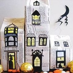 DIY Halloween 101: Decorations and Costume Accessories for You and Your Kids to Make Together - Ten Halloween craft projects for kids and ad...