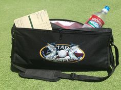 Our client Stars & Stripes Tournament was looking for a unique tee prize that would display their beautiful full color logo for the big golf tournament coming up this month in Cabo.The Beverage Caddy cooler fits perfectly in the back of a golf cart. Stars & Stripes is going to impress their golfers by stocking this cooler with drinks, snacks, and golf balls for the players to find when they go to their assigned cart!  Buy Yours Today…
