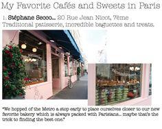 The best cafes and sweet shops in Paris! #travel #paris