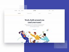Top 10 Web design trends keep up with users' needs! Landing Page Inspiration, Ui Design Inspiration, Typography Inspiration, Mobile Design, App Design, Flat Design, Design Your Own Website, Design Trends 2018, User Experience Design