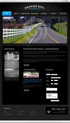 Fencing Contractor in Connecticut  Website 'http://fencesetcinc.com/'
