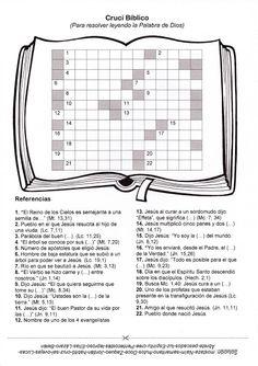 Crucigrama sobre la Biblia