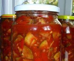 Słodko-kwaśny sos z cukinii i papryki - w słoiki B Food, Ketchup, Celery, Preserves, Pickles, Salsa, Grilling, Food And Drink, Cooking Recipes