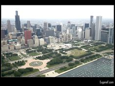 Chicago #Aerials #freewallpapers