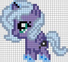 Filly Luna My Little Pony Perler Bead Pattern / Bead Sprite