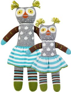 Betsy, Prudence the Owl Knit Doll