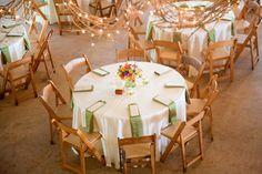 Casual Wedding Reception with Firefly Lighting | Miranda Laine Photography | #rustic