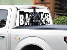 Product: Batman logo DC Comics art Rear Window Decal Sticker Pick-up Truck SUV Car any size