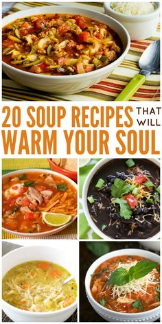 20 easy homemade sou