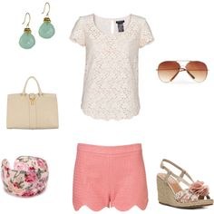 Summer Pastels, created by vintagerose914 on Polyvore