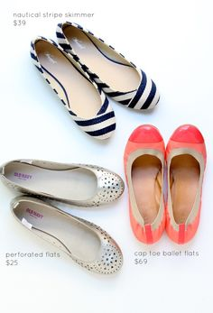 love me some flats!  affordable flats from you are my fav