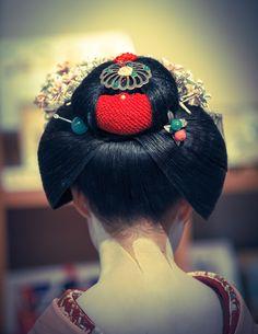 割れしのぶ(Ware Shinobu) 舞妓(Maiko) KYOTO, JAPAN