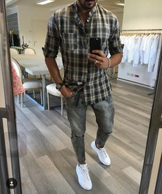195 daily casual outfits for men – page 1 Formal Attire For Men, Formal Dresses For Men, Stylish Men, Men Casual, Beautiful Casual Dresses, Ripped Jeans Men, Casual Outfits, Fashion Outfits, Best Mens Fashion
