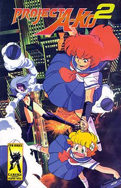 Project A-ko 2 Graphic Novel #RightStuf2014