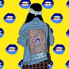 Music Drawings, Cartoon Drawings, Art Drawings, Psychedelic Art, Pop Art, Bright Art, Grunge, Indie Art, Cute Art