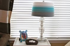 """Ombre """"ish"""" Lampshade Makeover"""