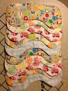 Quick and easy baby gifts to sew.