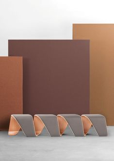 Office Furniture with an Autumnal Color Palette from True Design - Design Milk #outdoorfurniture