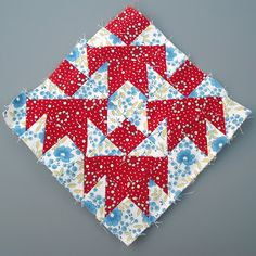 Another thing I worked on at the quilt retreat were some Farmer's Wife blocks. I was able to get six done:Block 24, Country Path.Block 25, Cups & Saucers.Block 27, Darting Birds.Block 28,…