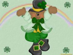 Cute St Patrick's Day Wallpaper | Very cute Desktop Wallpaper for dressing up…