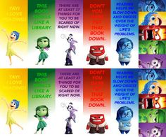 Free Printable Inside Out Bookmarks