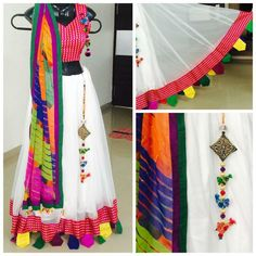 Perfect for Holi Garba Dress, Navratri Dress, Choli Dress, Choli Designs, Lehenga Designs, Blouse Designs, Pakistani Dresses, Indian Dresses, Indian Outfits