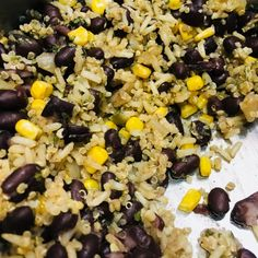 Quinoa and Black Beans Healthy - Recipe Beans Recipes, Snack Recipes, Healthy Recipes, Black Bean Recipes, Canned Black Beans, Frozen Corn, Saute Onions, Coriander Seeds, Cayenne Peppers
