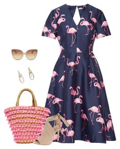 Untitled #3600 by elia72 on Polyvore featuring polyvore, fashion, style, Draper James, Kendall + Kylie, Mystique, John Hardy, Linda Farrow and clothing #elia72