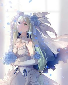 Rune Factory 4 - Frey in wedding gown Harvest Moon Game, Rune Factory 4, Anime Wedding, Cute Anime Pics, Manga Pictures, Cute Characters, Fire Emblem, Anime Style, Character Concept