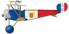 Nieuport 11 Armande de Turenne