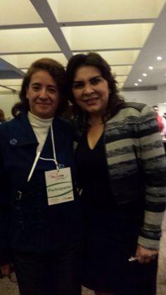 Con Ivonne Ortega Secretaria General del PRI
