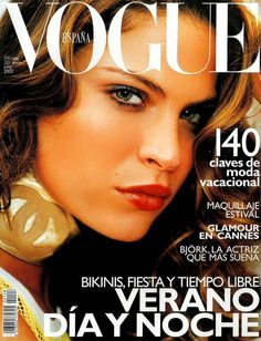 Frankie Rayder by Mario Testino Vogue España July 2000
